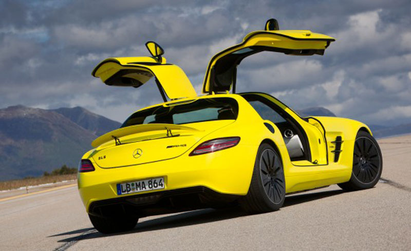 2013 Mercedes Benz SLS AMG E Cell