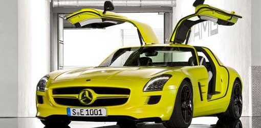 2013 Mercedes Benz SLS AMG E Cell