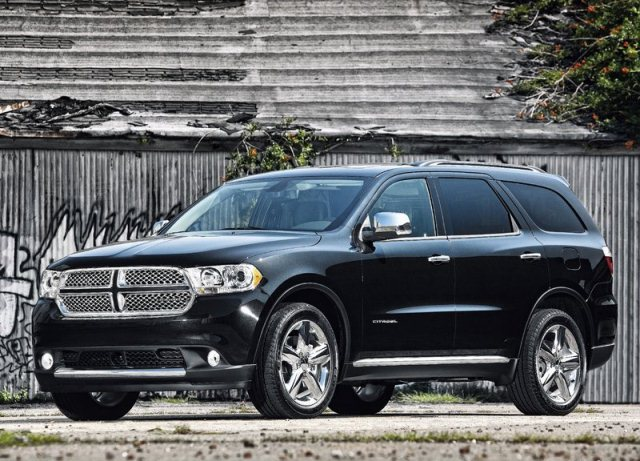 2013 DODGE DURANGO Black