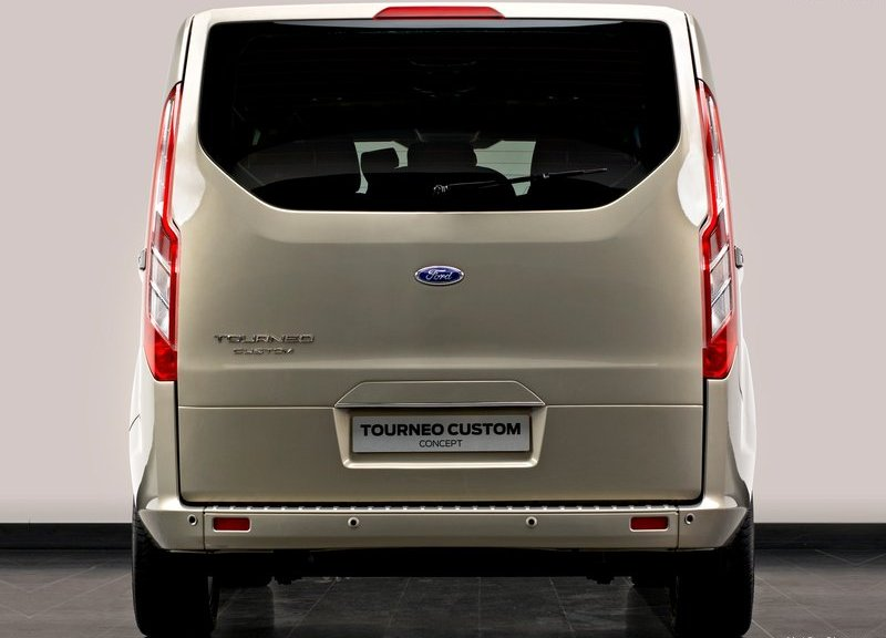 2013 FORD Transit rear 2013 YENİ FORD TRANSİT