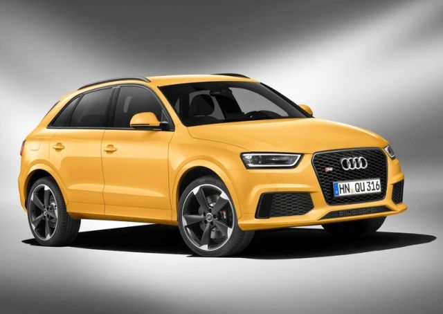 2014_AUDI_RS_Q3_Suv_Yellow_front_pic-3