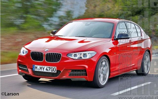 New BMW 1 Serie Limousine