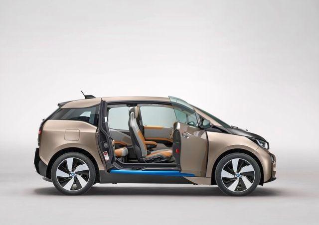 BMW Electric car i3 2014