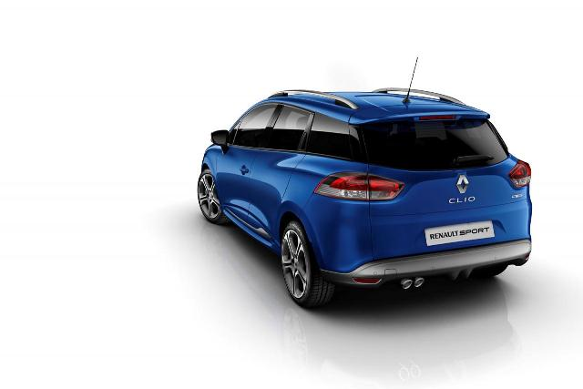 2014 Blue RENAULT CLIO GT 120 ESTATE SW rear pic 4 2014 Blue RENAULT CLIO GT 120 EDC Hatchback &SW  ESTATE