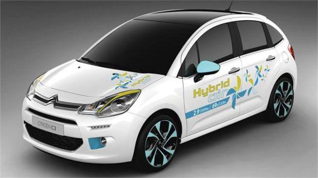 2014 new citroen c3 hybrid oopscars. Black Bedroom Furniture Sets. Home Design Ideas