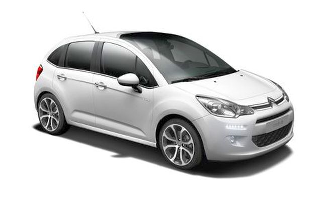 2014 new citroen c3 hybrid. Black Bedroom Furniture Sets. Home Design Ideas