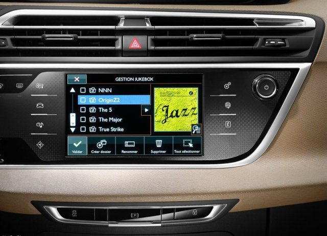 2014 CITROEN C4 PICASSO touchscreen music system pic 13 2014 CITROEN C4 PICASSO