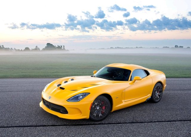 Dodge Viper Yellow 2014 dodge viper gts srt