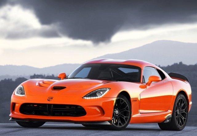 dodge viper srt ta orange color oopscars
