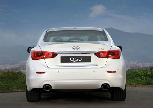 2014 INFINITI Q50 Luxury car