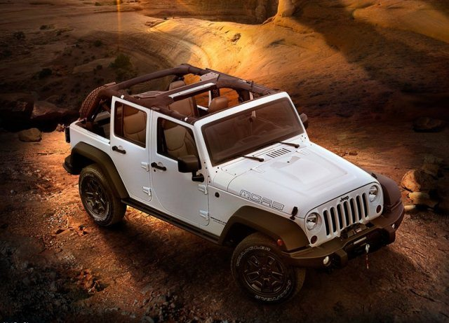 2014 JEEP WRANGLER Unlimited Moab white pic 1 2014 JEEP WRANGLER