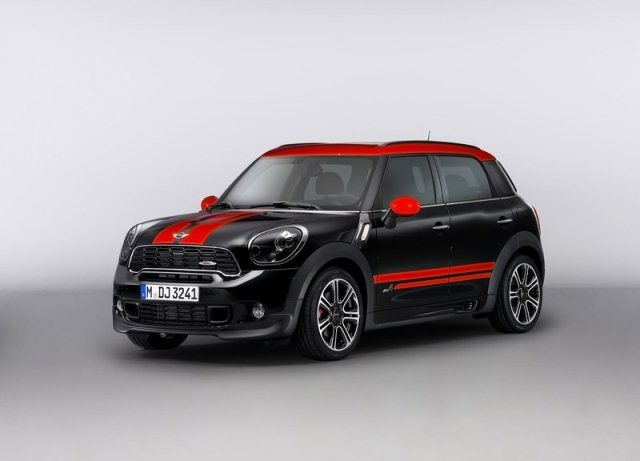 mini countryman john cooper works tuning oopscars. Black Bedroom Furniture Sets. Home Design Ideas