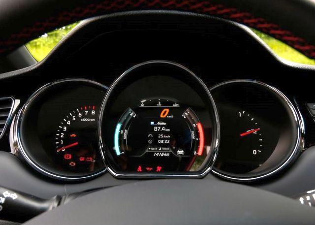 Kia Ceed GT Hot Hatch dashboard