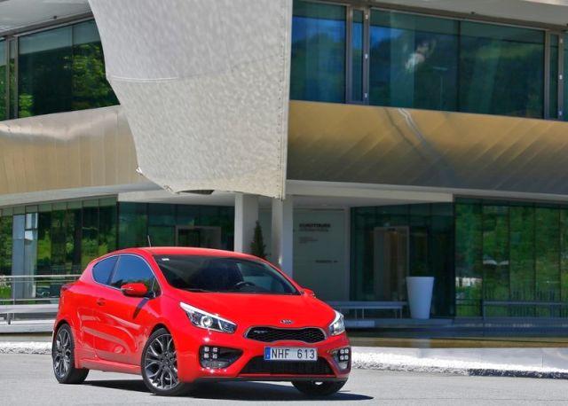 2014 KIA PRO CEED GT Red