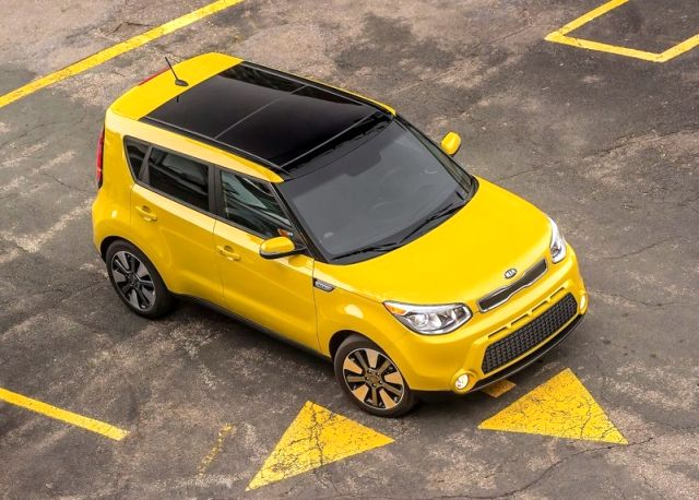 2014 KIA SOUL Yellow