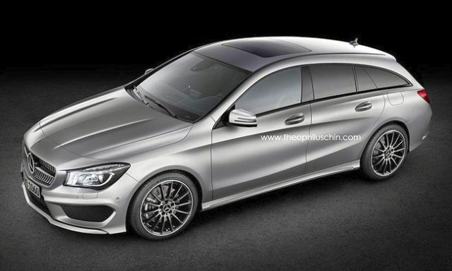 2014 novo MERCEDES CLA Shooting Brake