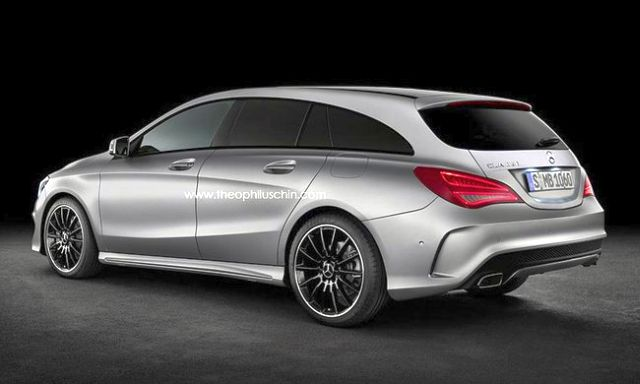 2014 Neuer MERCEDES CLA Shooting Brake