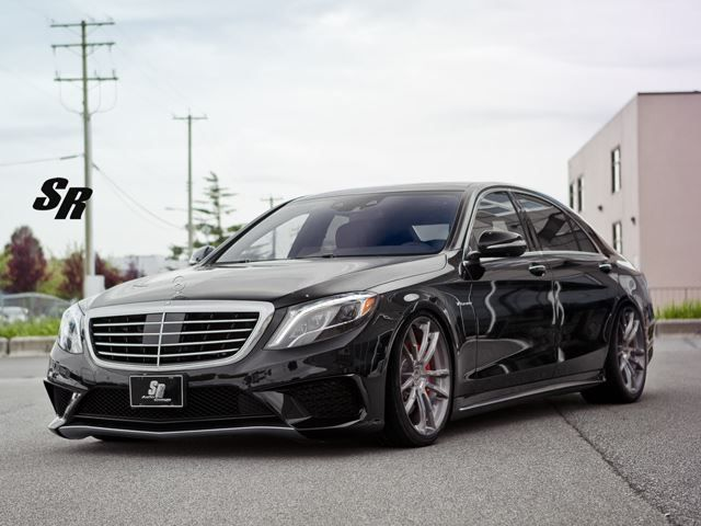 New MERCEDES S63 AMG tuned by SR AUTO