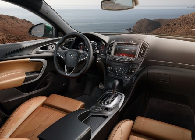Opel Insignia restyle 2014