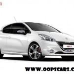 2014 PEUGEOT 208 GTi white & red