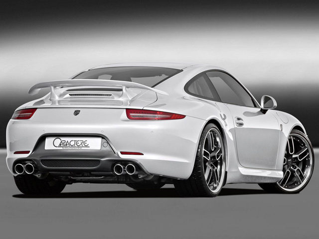 PORSCHE 911 tuned by Caractere