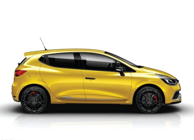 2014 Clio Rs 200 Yellow