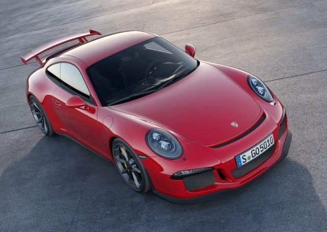 2014 PORSCHE 911 GT3 White & Red