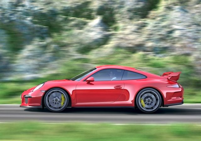 2014 Red PORSCHE 911 GT3 profile pic 4 2014 PORSCHE 911 GT3 White & Red