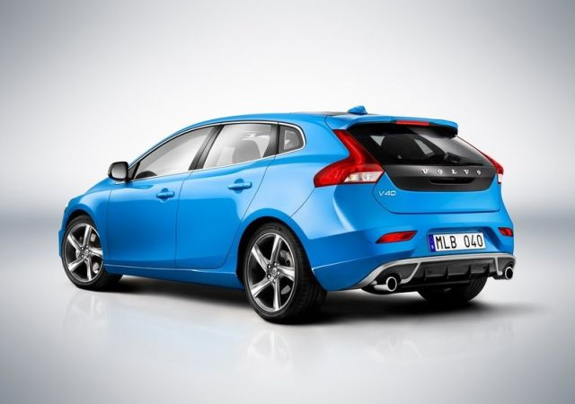 Blue VOLVO V40 R Design