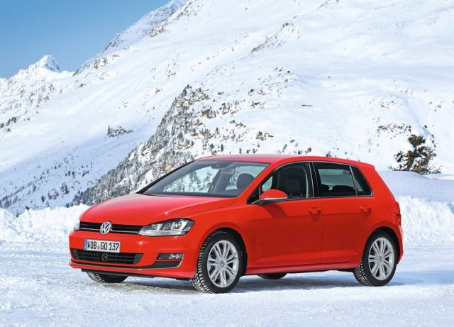VW GOLF 4Motion 2014