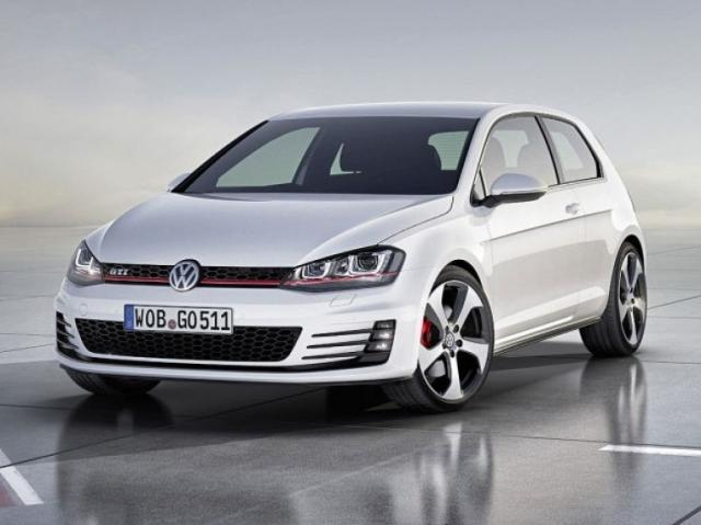 VW GOLF 7 Gti front