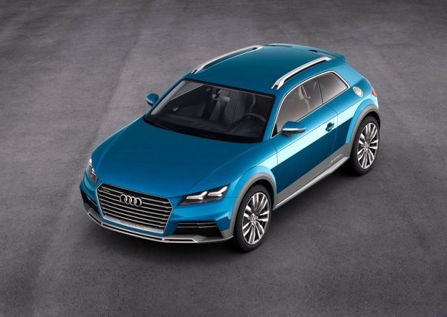 2015 AUDI ALLROAD SHOOTING BRAKE Concept
