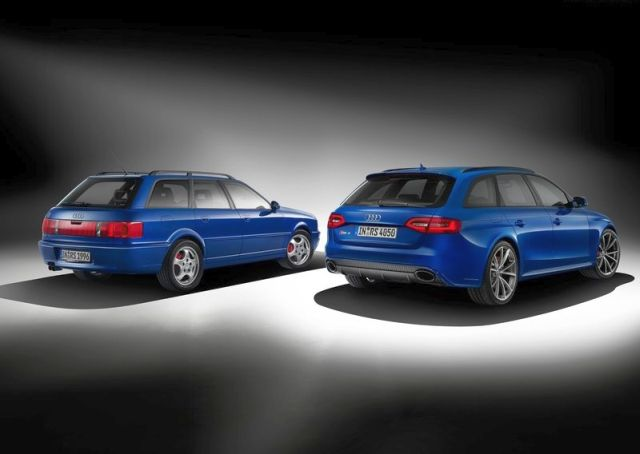 2015 AUDI RS4 Nogaro Selection & AUDI 80 RS2