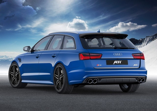 2015 AUDI S6 AVANT tuned by ABT