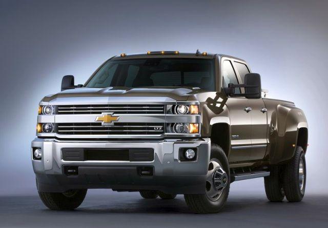2015 CHEVROLET SILVERADO HD 2500-3500 Truck
