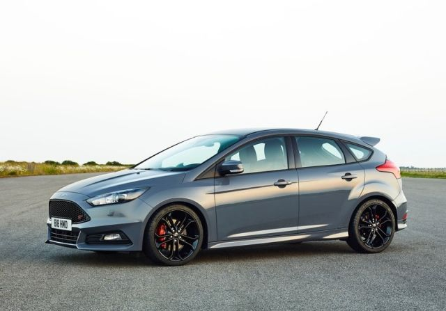 2015 FORD FOCUS ST Matte Gray
