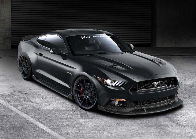 2015 FORD MUSTANG GT tuned by HENNESSEY