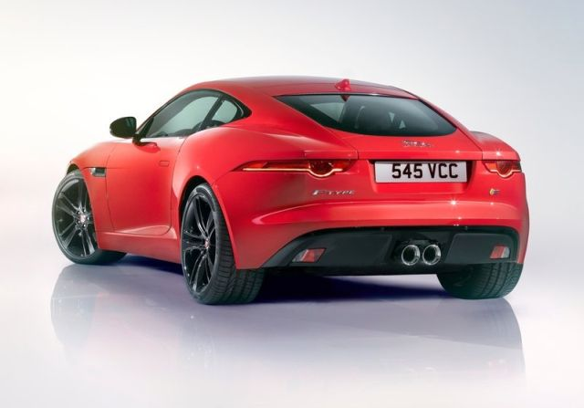 2015 new JAGUAR F-TYPE COUPE
