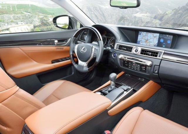 2015 new LEXUS GS 300H dashboard