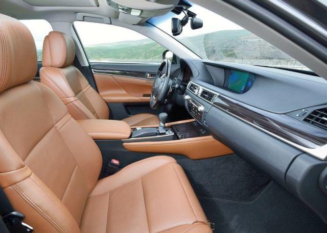 2015 new LEXUS GS 300H interior