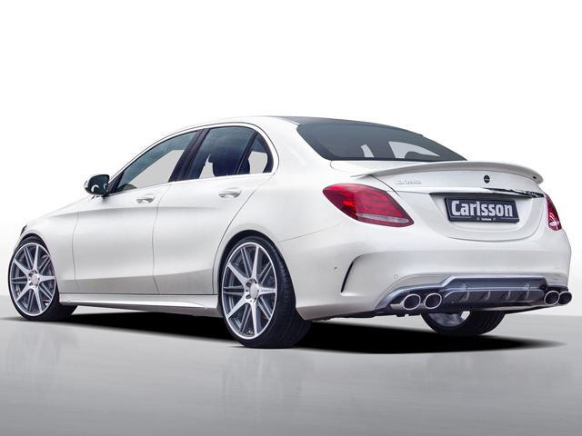 2015 MERCEDES C CLASS tuned by CARLSSON