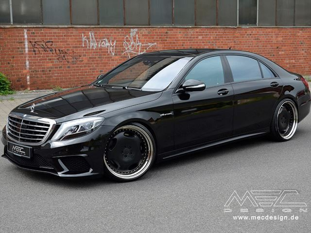 MERCEDES S63 AMG tuned by MEC DESIGN