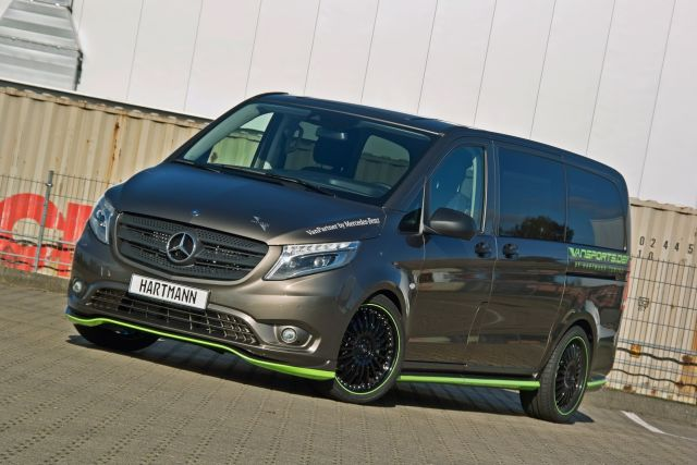 2015 MERCEDES VITO TOURER tuned by HARTMANN