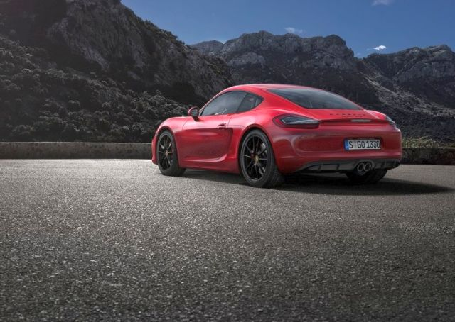 2015 New PORSCHE CAYMAN GTS