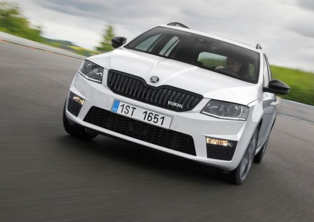 2015 New SKODA OCTAVIA RS COMBI