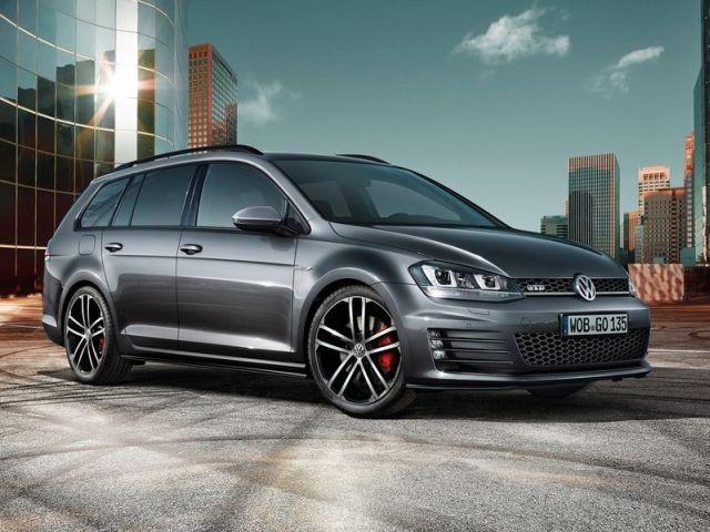 2015 VW GOLF GTD VARIANT