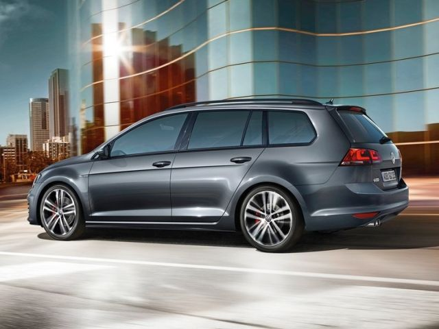 2015 VW GOLF GTD VARIANT