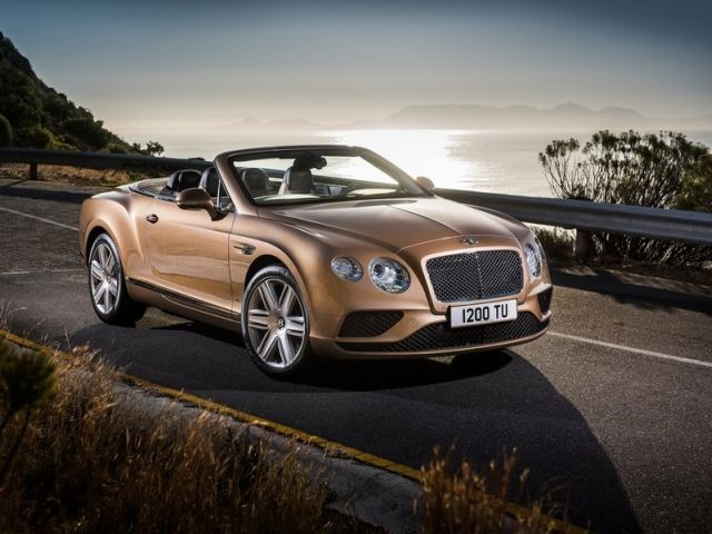 2016 BENTLEY CONTINENTAL GT CABRIOLET