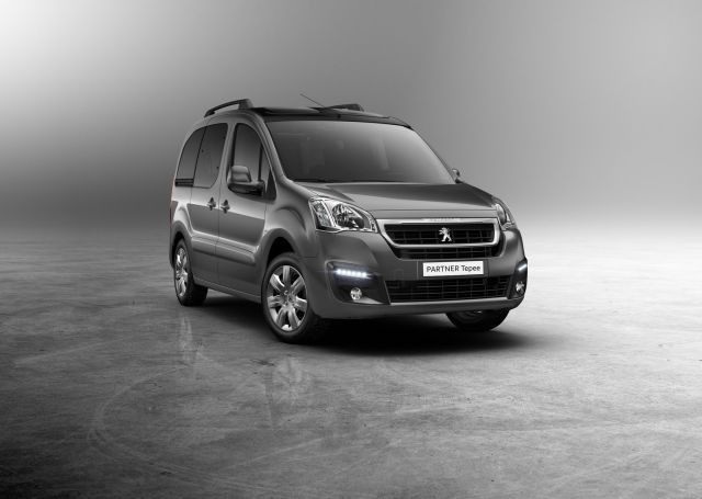 2016 PEUGEOT PARTNER TEPE Outdoor