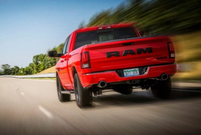 2017 DODGE RAM 1500 NIGHT PACKAGE | OopsCars